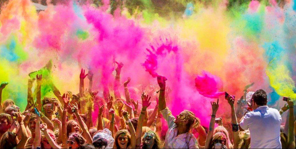 Hindu Holi Festivali İzmir'de Kutlandı