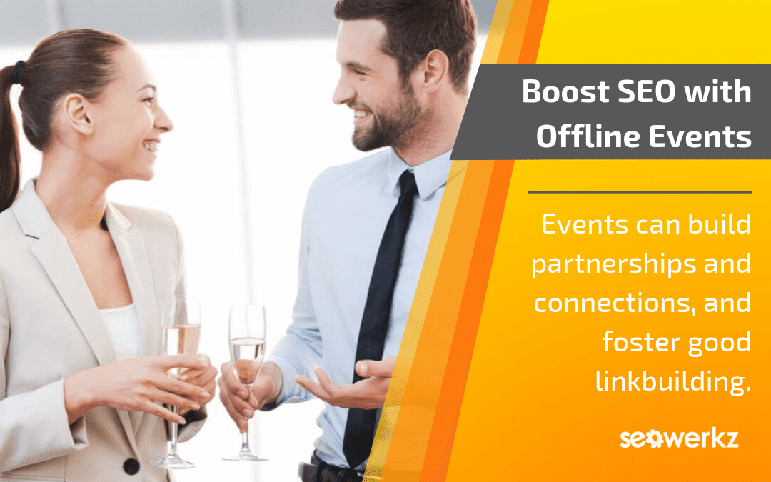 offline events boost SEO link-building