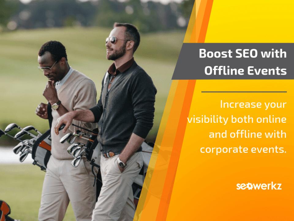 offline events boost SEO link-building