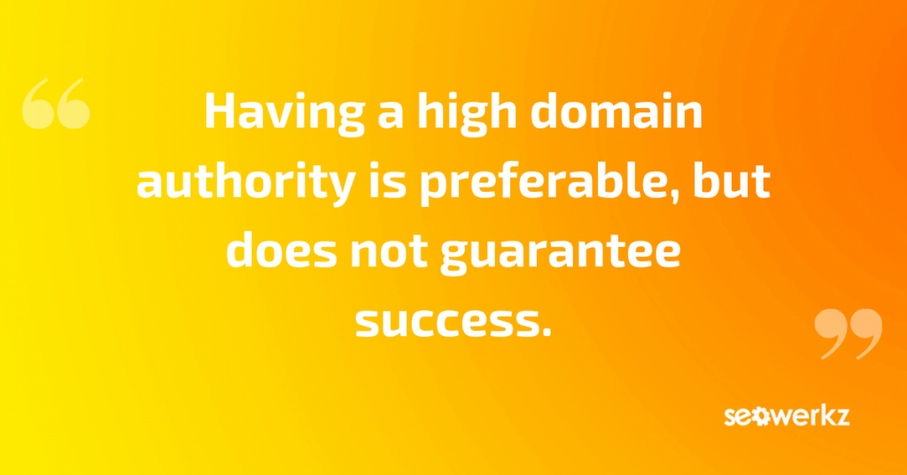 domain authority-quote