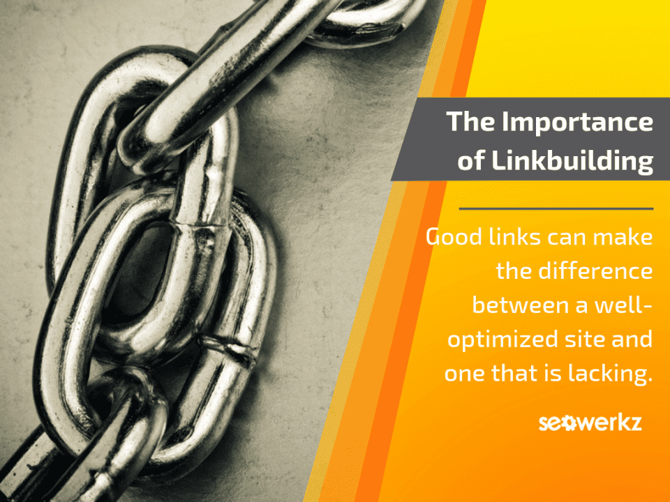 SEO link-building importance tactics