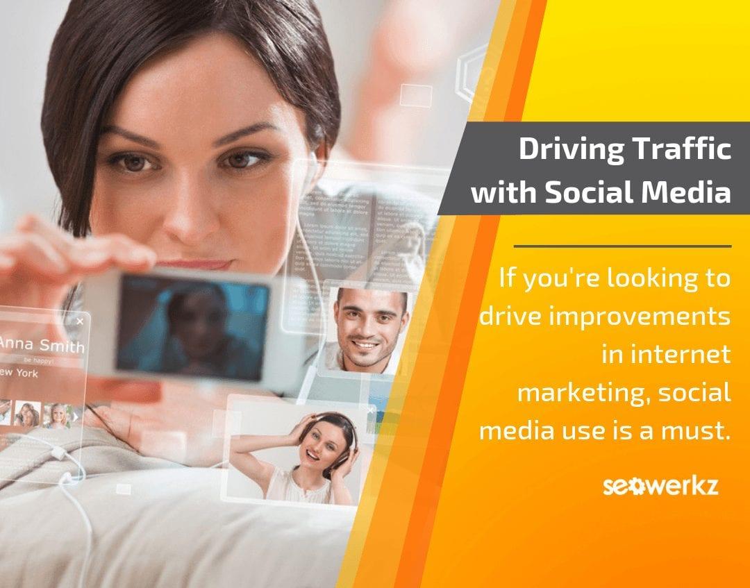 website traffic social media tactics