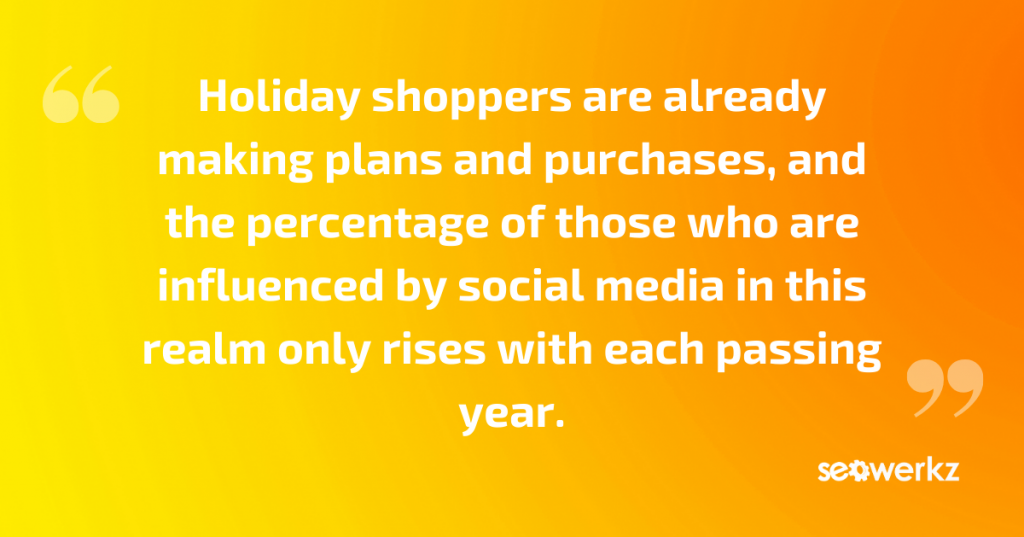 social media holiday engagement