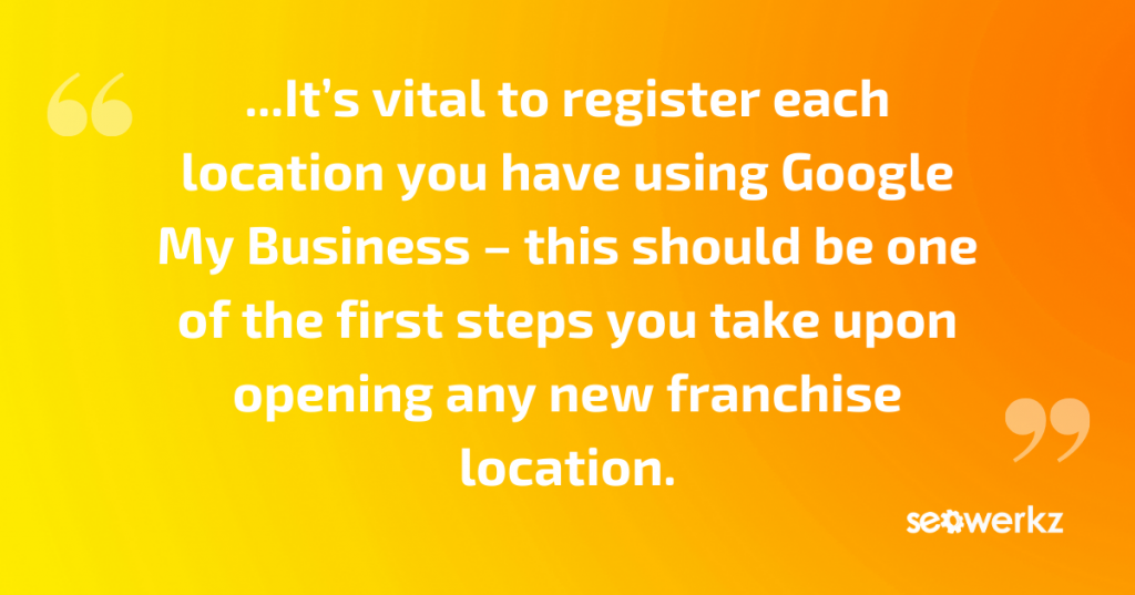 local SEO marketing franchises