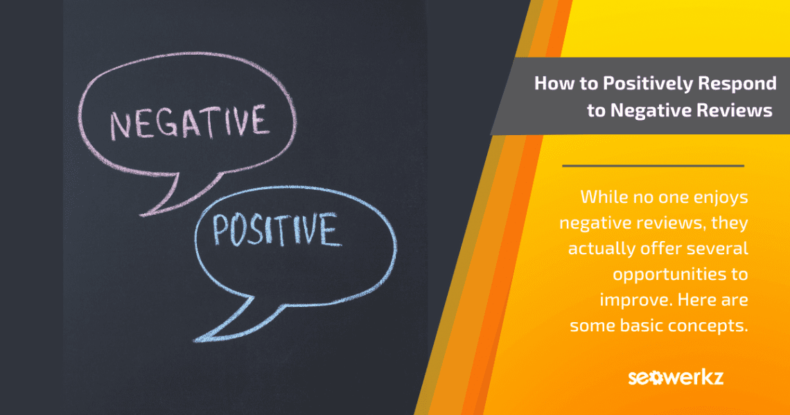 positively respond negative reviews