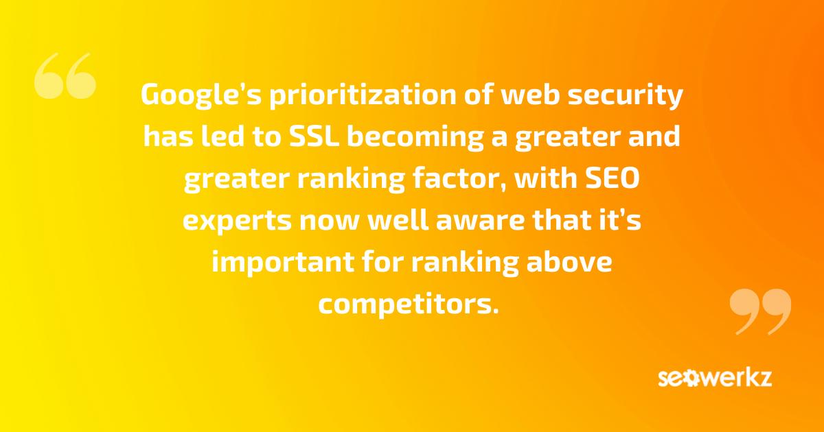 basics SSL online marketing